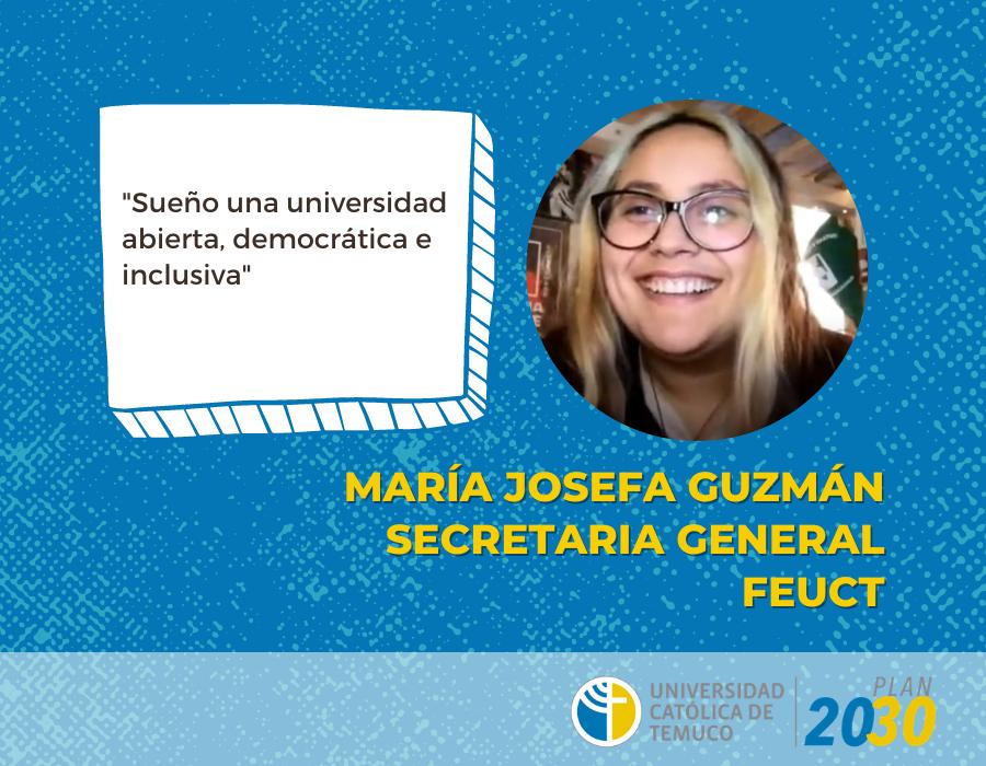 Tres características de la UCT que sueña Josefa Guzmán: una universidad abierta, democrática e inclusiva